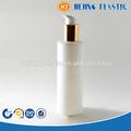200 ml blanco botella de plástico PET con bomba de aluminio de la