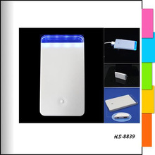 2400mAh portable power bank for all kinds of smart phones charger