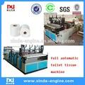 Completo rebobinado automático& perforada de papel rollo de papel higiénico de máquinas