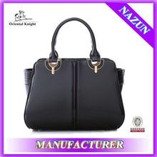 china manufacturer custom women leather shoulder bag for lady