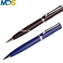 Custom logo printing metal ball pen,promotional fashion ballpoint pen,nice writing metal pen