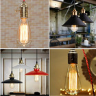 Free Shipping Soft Light retro bulb ST64 ampoule edison