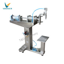 F3-1200 semi auomatic spare parts beverage filling machine