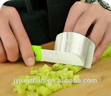 Kitchen Stainless Steel chop safe finger guard , cutting guard , safe slice