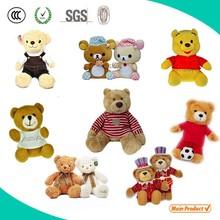 Cute Teddy bear, Custom plush stuffed toy, OEM stuffed animal
