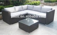 Popular outdoor rattan furniture/rattan patio sofa/wicker sofa set designs