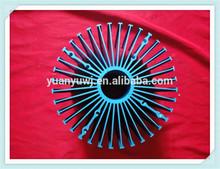Round metal heat sink,extruded aluminium radiator/heatsink