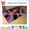 el hogar y el hotel nudo chino de seda añadir shaggy alfombras de piso de baldosas