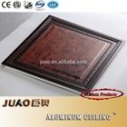 artistic design high quality aluminum ceiling tile with eco-friendly aluminum frame