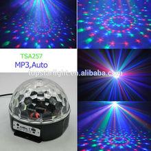 MP3 LED crystal disco ball light crystal dragon ball light