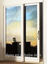factory price high quality aluminum smart glass door