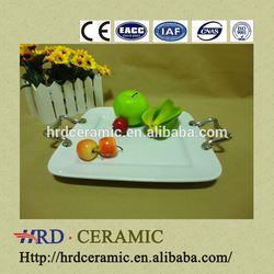 China hot sale stock ceramic plate making machine with Metal handle