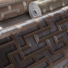 brown 3d new design home decorative waterproof design wallpaper