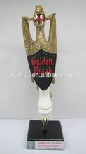 resin ghost custom beer tap handle
