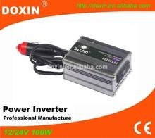 Small modified sine wave 100 watt dc to ac power inverter