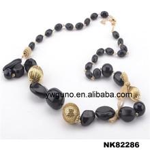 collana di corallo nero ingrosso dichiarazione collana