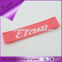 garment import linen labels pink woman label