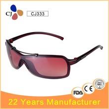 CJ Imitation Designer Rectangle Shield Sunglasses