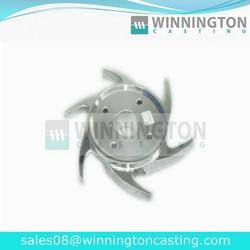 Machining Pump Impeller Stainless Steel Centrifugal Impeller