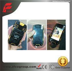 3G rugged waterproof mobile phone,waterproof shockproof phone,original brand mobile phone