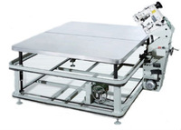 high quality corner speed auto slow down mattress tape edge sewing machine