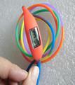 Nuevo de silicona a prueba de agua reloj de pulsera con el arco iris pulsera, caramelo de color reloj