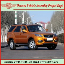 MITSUBISHI Engine Tech Chinese Manufacturing Automatic 4WD Sports SUV Car with Leather Seats