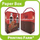 High Quality Spot Varnish Corrugated Wine Box