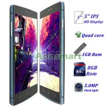 "5""inch Quad Core 1GB Ram 3G Dual Sim ultra slim ultra slim android smart phone M9"
