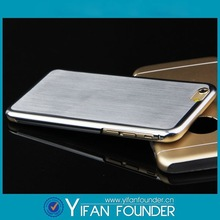 Aluminum phone case for iphone6, ultra thin phone case,for iphone 6 case brushed aluminum