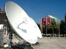 4.5 m outdoor big satellite dish antenna