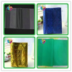 China Plastic High Quality Cheap Book Jacket Custom Book Cover
