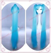 cosplay blue wig, cheap cosplay wig,hatsune miku cosplay wig