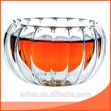 Nice double wall g/borosilicate glass cup