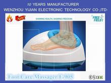 F-905 massager del piede cura di relax tendini, massaggiatori piedi per i diabetici, elettrico massager del piede lwh: 42*36*25cm