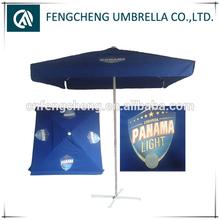 big outdoor delux parasol patio unbrella airvent garden beach umbrella