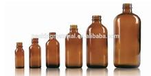 1/2oz,1oz,2oz,4oz,8oz,16oz amber glass bottles boston round with pump
