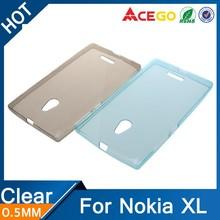 Acego Ultra thin for nokia XL case , tpu case for nokia XL