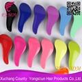 2014 best-seller escova colorir uso do salão de escovas de cabelo de plástico grosso escova de cabelo