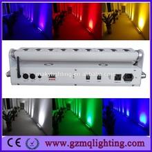 Dmx led lights RGBAW 15W Wireless dmx DJ equipment lights /led theater stage lights wireless