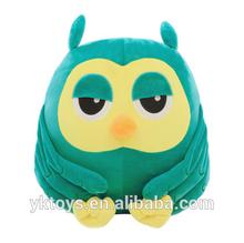 Cute owl stuffed toy plush hand warmer pillow