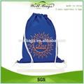 Personalizado saco de cordão barato, Mochila barato, Saco de cordão de promoção