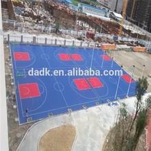 Multi Use Outdoor basketball Flooring , basketball Court PP Material Flooring