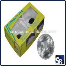 """7"""" ROUND HALOGEN HORSE LED XENON AUTO CAR HEAD LAMP HEADLAMP"""