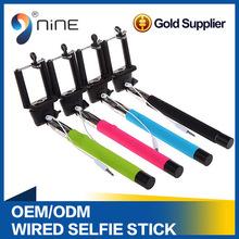 25-102cm 6 Levels Long Length Remote Control Extendable Handheld Phone Selfie Pod