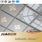 300*300/450*450 grate aluminum ceiling tiles with eco-friendly aluminum frame for home