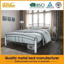 Hot selling high quality metal single bed for cheap folding bed home furniture