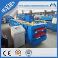 Zinco metal telha/aço telhas rollforming máquina de alta eficiência