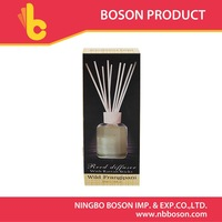 liquid air freshener reed diffuser with rattan sticks