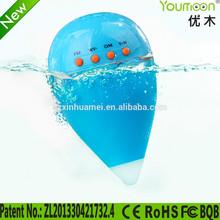 Original design floating waterproof bluetooth speaker with FM radio